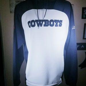 Reebok Men's Cowboys Hoodie Size XL